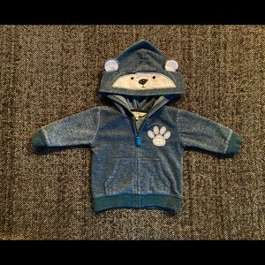 George teddy blue heather fleece…